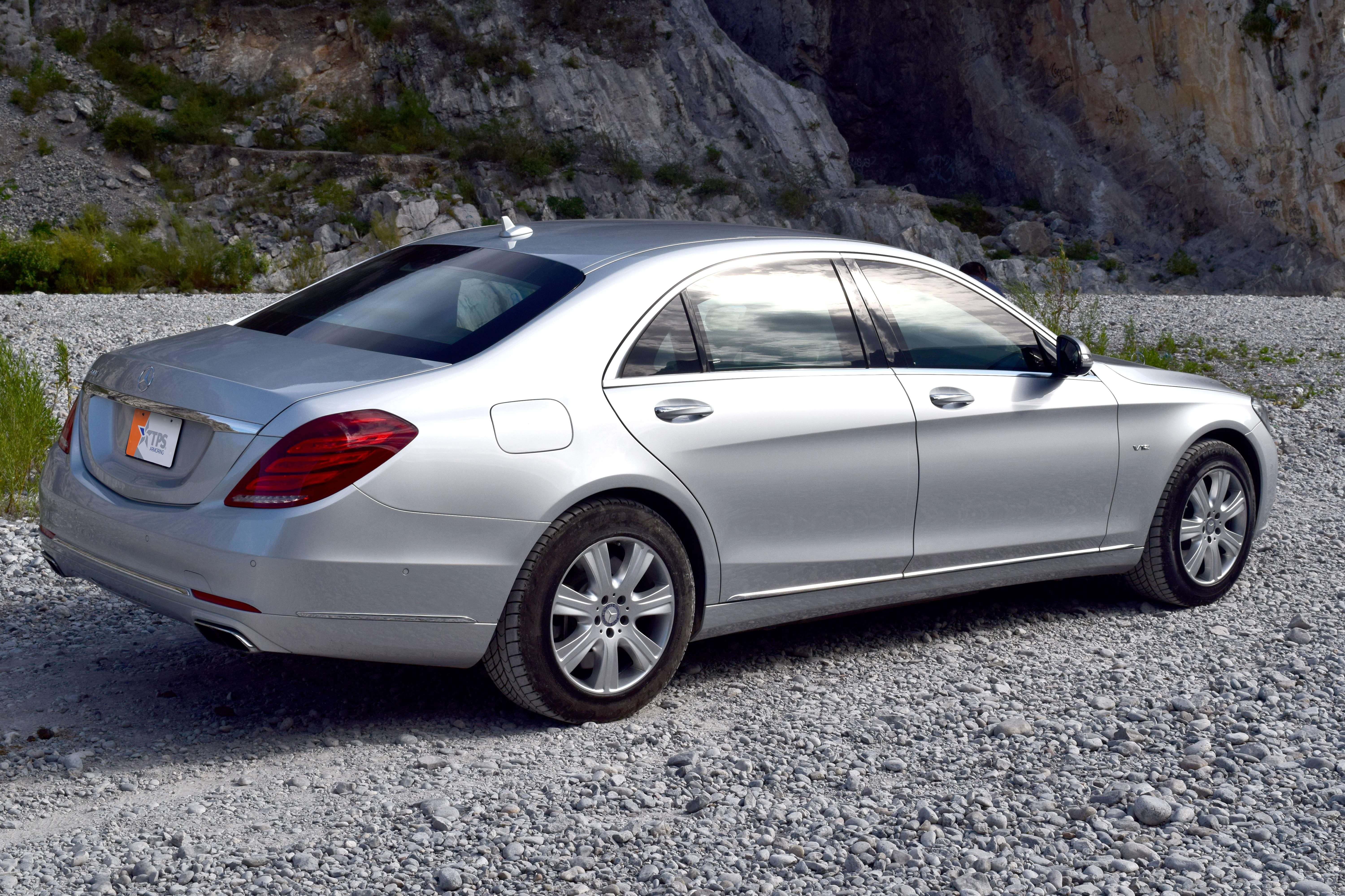 Tps 600 tps armoring for Mercedes benz s guard for sale